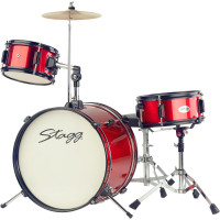 STAGG JUNIOR PACK JUNIOR16 3FUTS ROUGE