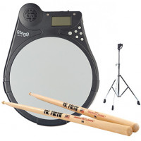 PACK STAGG EBT10 PAD + STAND 8mm + VICFIRTH