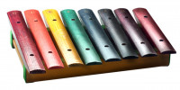 STAGG XYLOJ8RB XYLOPHONE 8 LAMES COULEUR