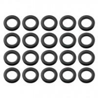 SPAREDRUM SWBK RONDELLE METAL BLACK (X20)