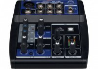 WHARFEDALE CONNECT502 USB Console de mixage 5 canaux