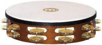 MEINL TAH2BAB TAMBOURIN 10 TRADITIONAL DOUBLE LAITON