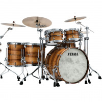 TAMA STAR BUBINGA STUDIO22 5FUTS EXOTIX NATURAL FIGURED BLACKWOOD