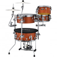 "TAMA CJB46C-BOS COCKTAIL-JAM 16"" BRIGHT ORANGE SPARKLE"