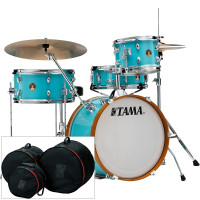 "TAMA LJK48S-AQB CLUB-JAM 18""/4PCS AQUA BLUE HOUSSES INCLUSES"