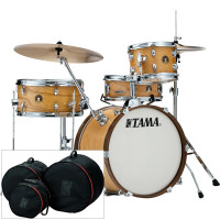 "TAMA LJL48S-SBO CLUB-JAM 18"" SATIN BLONDE HOUSSES INCLUSES"