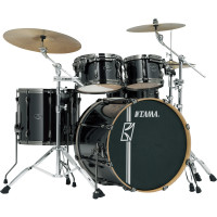 "TAMA SUPERSTAR HYPER-DRIVE MAPLE 22""/4PCS BRUSHED CHARCOAL BLACK"