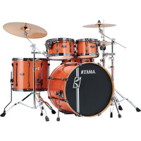 "TAMA SUPERSTAR HYPER-DRIVE MAPLE 22""/4PCS BRIGHT ORANGE SPARKLE"