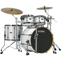 "TAMA SUPERSTAR HYPER-DRIVE MAPLE 22""/4PCS SUGAR WHITE"
