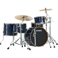 "TAMA SUPERSTAR HYPER-DRIVE DUO 20""/4PCS SATIN BLUE VERTICAL STRIPES"