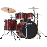 "TAMA SUPERSTAR HYPER-DRIVE MAPLE 22""/4PCS CLASSIC CHERRY WINE"