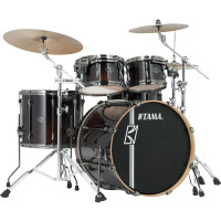 "TAMA SUPERSTAR HYPER-DRIVE MAPLE 22""/4PCS DARK MOCHA FADE"