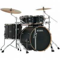 "TAMA SUPERSTAR HYPER-DRIVE MAPLE 22""/4PCS FLAT BLACK"