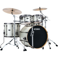 "TAMA SUPERSTAR HYPER-DRIVE MAPLE 22""/4PCS SATIN ARCTIC PEARL"