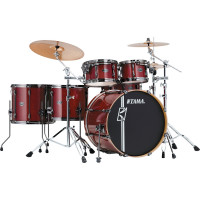 "TAMA SUPERSTAR HYPER-DRIVE MAPLE 22""/5PCS CLASSIC CHERRY WINE"