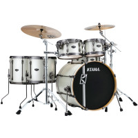 "TAMA SUPERSTAR HYPER-DRIVE MAPLE 22""/5PCS SATIN ARCTIC PEARL"