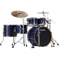 "TAMA SUPERSTAR HYPER-DRIVE DUO 22""/5PCS SATIN BLUE VERTICAL STRIPES"