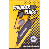 THUNDER PLUGS PROTECTIONS AUDITIVES -18DB