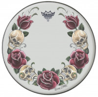 "REMO SUEDE 14"" TATTOO SKYN - ROCK & ROSE"