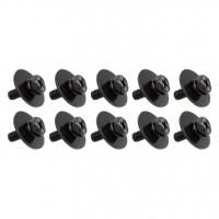 SPAREDRUM WSC411BK VIS 4mm X 11mm FUT BOIS BLACK (x10)