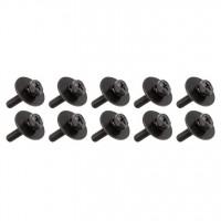 SPAREDRUM WSC416BK VIS 4mm X 16mm FUT BOIS BLACK (x10)