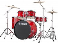 YAMAHA RYDEEN FUSION20 PAISTE101 HOT RED
