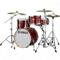 YAMAHA STAGE CUSTOM BIRCH JAZZ18 3FUTS CRANBERRY RED