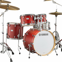 "YAMAHA TOUR CUSTOM 22""/4FUTS CANDY APPLE  SATIN"