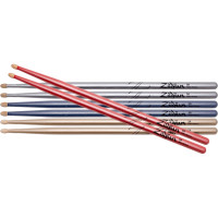 PACK ZILDJIAN 5A 4PAIRES CHROMA SERIES