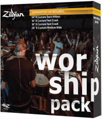PACK ZILDJIAN K CUSTOM WORSHIP